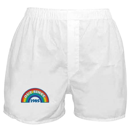 Out Since 1985 Boxer Shorts