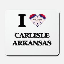 I love Carlisle Arkansas Mousepad