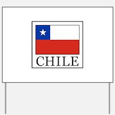 Chile Yard Sign