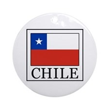 Chile Ornament (Round)