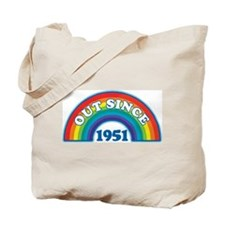 Out Since 1951 Tote Bag