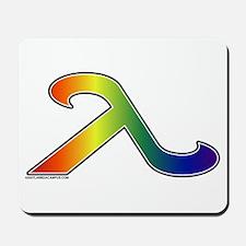 Rainbow Lamda Mousepad