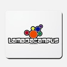 Lambda Bubbles Mousepad