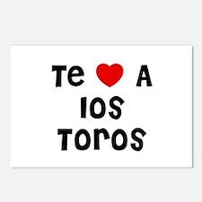 Te * A los Toros Postcards (Package of 8)