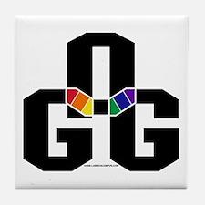 GOG Stacked Tile Coaster