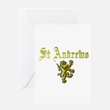 St Andrews. Greeting Card