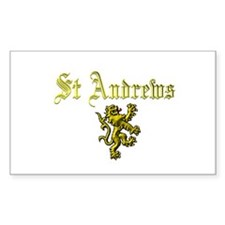 St Andrews. Rectangle Decal