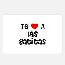 Te * A las Gatitas Postcards (Package of 8)