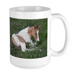 Sleeping foal Large Mug