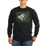 Sleeping foal Long Sleeve Dark T-Shirt
