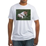Sleeping foal Fitted T-Shirt