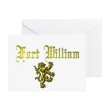 Fort William. Greeting Card