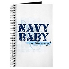 Navy Baby On The Way (v2) Journal