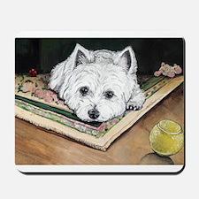 Please Play Westie Mousepad