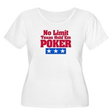 No Limit Texas Hold'em Poker T-Shirt