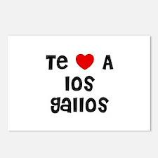 Te * A los Gallos Postcards (Package of 8)
