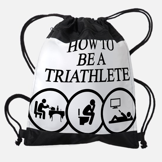 Cute Funny cycling Drawstring Bag