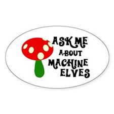 Machine Elves Oval Decal