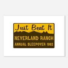 Neverland Sleepover Postcards (Package of 8)