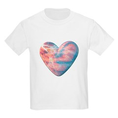 Lightning Heart Kids T-Shirt