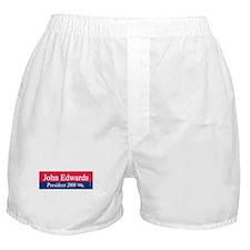 """John Edwards President"" Boxer Shorts"