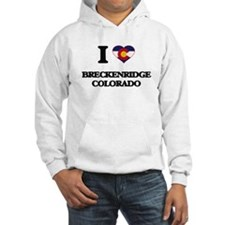 I love Breckenridge Colorado Hoodie