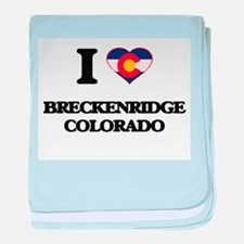 I love Breckenridge Colorado baby blanket