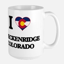 I love Breckenridge Colorado Mugs