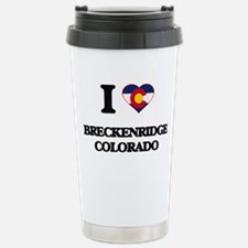 I love Breckenridge Col Stainless Steel Travel Mug