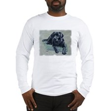 Classic Black Lab Long Sleeve T-Shirt