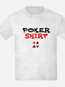 Poker Shirt, Poker T-Shirt T-Shirt
