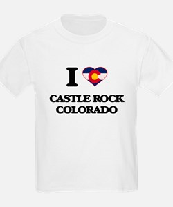 I love Castle Rock Colorado T-Shirt