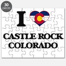 I love Castle Rock Colorado Puzzle