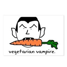 Vegetarian Vampire Postcards (Package of 8)