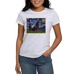 Starry/Rottweiler (#6) Women's T-Shirt