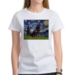 Starry/Rottweiler (#6) Women's T-Shirt