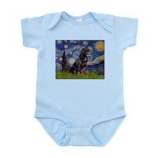 Starry/Rottweiler (#6) Infant Bodysuit