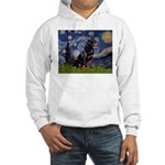Starry/Rottweiler (#6) Hooded Sweatshirt