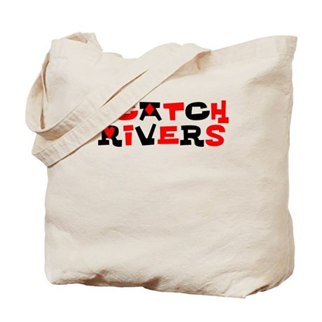 I Catch Rivers, Poker Tote Bag