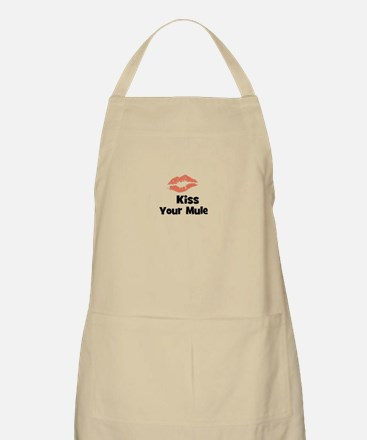 Kiss Your Mule BBQ Apron