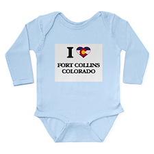 I love Fort Collins Colorado Body Suit