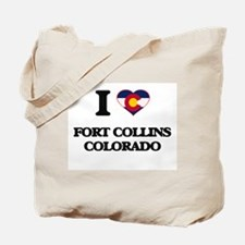 I love Fort Collins Colorado Tote Bag