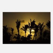 Sunset in Tropics Postcards (Package of 8)