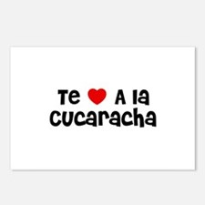 Te * A la Cucaracha Postcards (Package of 8)