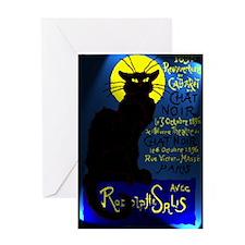 Cabaret du Chat Noir Greeting Card