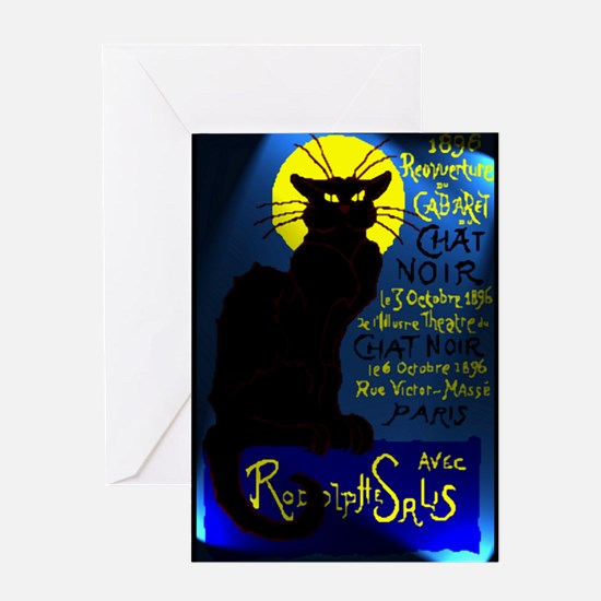 Cabaret du Chat Noir Greeting Card