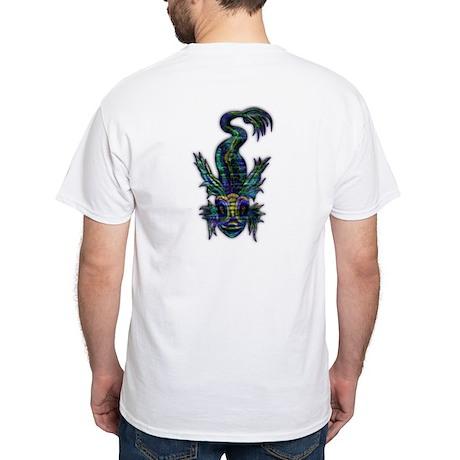 Sea Monster, White T-Shirt