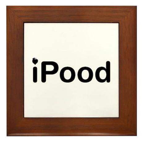iPood Framed Tile