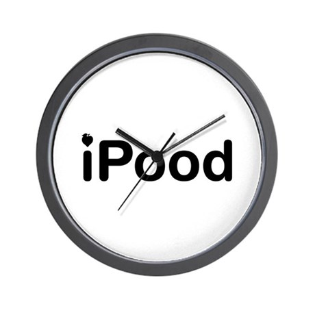 iPood Wall Clock
