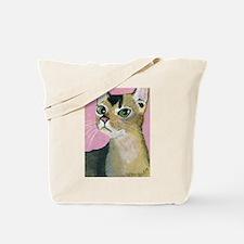 Cute Abyssinian cat Tote Bag